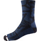 "Fox 8"" Print Trail Socks Men navy/grey"